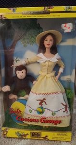 Curious George Barbie